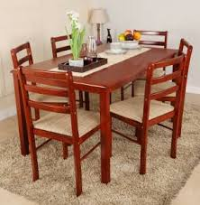 dining table price online. woodness solid wood 6 seater dining set table price online