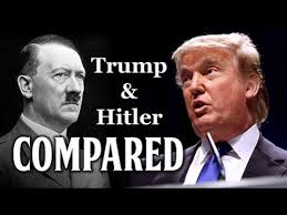 Image result for trump and hitler