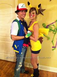 great pikachu and ash couple costume well this costume pikachu and ash couple