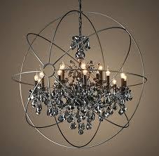 chandeliers crystal sphere chandelier large tips on ball australia