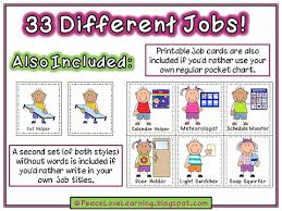 Preschool Classroom Job Chart Printables Helper Chart Pictures For Preschool Bedowntowndaytona Com