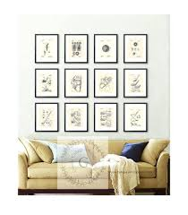 golf office decor. Star Wars Office Decor Golf Patent Art Posters Set Of Prints