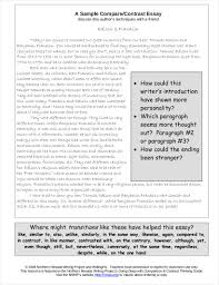 9 Comparative Essay Samples Free Pdf Format Download