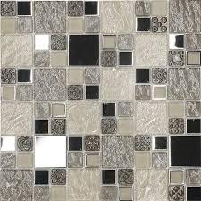 kitchen tile. beige metal textured glass mosaic kitchen backsplash tile, 12\ tile
