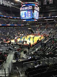 Capital One Arena Section 109 Row R Seat 20 Washington