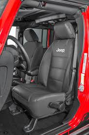 plasticolor jeep logo sideless front seat cover for jeep vehicles with removable headrests quadratec