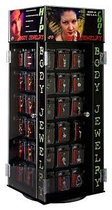 Jewelry Vending Machine Extraordinary Amazon Pacific Piercing Body Jewelry 48pc Counter Top