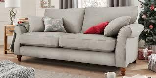 Next Living Room Furniture Buy Ashford Large Sofa 3 Seats Cosy Twill Light Grey Low Turned