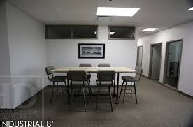 office wooden table. Contemporary Office Industrial Style Table Office Reclaimed Wood Table Cambridge  Ontario Piping To Office Wooden Table O