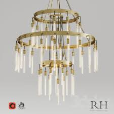 axis 3 tier chandelier
