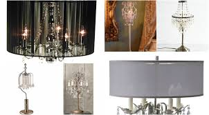 image of chandelier table lamp design ideas