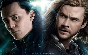 Image result for thor and loki