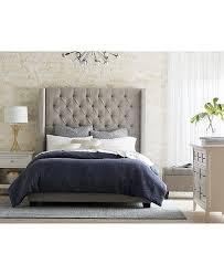 Monroe Upholstered Queen Bed, Created for Macy's in 2019 | Queen Bed ...