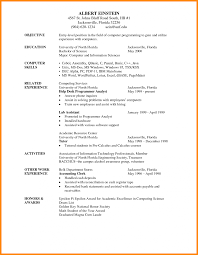 How To Write A Professional Profile Resume Genius Good Examples