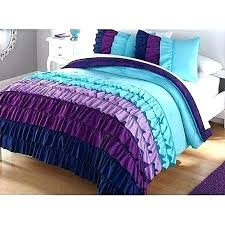 blue and purple bedrooms for girls. purple and blue bedroom ideas teal girl ruffle twin bedrooms for girls .