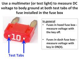the most informative and reliable method to test for blown fuses Craftsman Multimeter Fuses at Testing Fuse Box With Multimeter