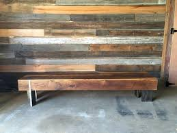 modern reclaimed wood furniture. Long Rectangle Modern Reclaimed Wood Coffee Table Solid Steel Legs For Furniture