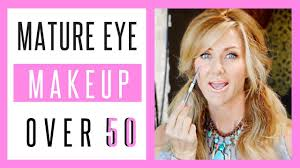 eye makeup tutorial how to make your eyes look bigger over 50s fabulous50s