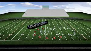 Marching Band Drill Design Optical Illusions Music By Key Poulan