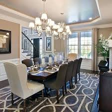 luxury dining room ideas progress lighting an exclusive luxury home tour with award toll brothers dining room featuring dazzle chandeliers designer dining