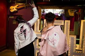 bespoke garments customised faux leather jackets for badass brides by born to thread