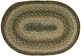 hsd heather oval cotton braided rug lrg