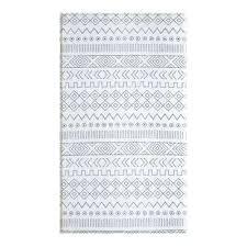 soft modern blue and cream 8 ft x reversible indoor area waterproof rug outdoor rugs n