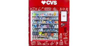 Personal Vending Machine Cooler Delectable CVS Develops Personal Care Vending Machines HomeWorld Business