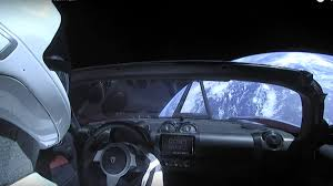 tesla car in space live. space oddity: dummy rides elon musk\u0027s tesla to mars (video) car in live 1