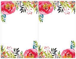 Invitation Templete Floral Invitation Template free printable Free invitation 1