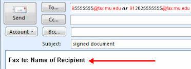 Document Fax Enterprise Fax It Services Marquette University