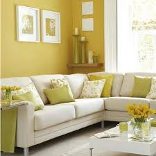 colorful living room furniture sets. yellow wall color theme and white corner sofa sets in small living room design ideas colorful furniture u