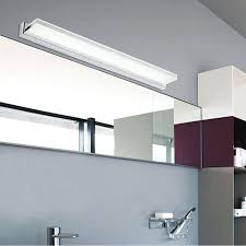 led bathroom mirror lighting. find more led indoor wall lamps information about new novelty 12w 72cm super long bathroom mirror tops light mounted cabinet linear bar led lighting