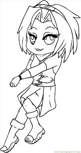 Small Picture Sakura From Naruto Step 7 Coloring Page Free Sakura Coloring