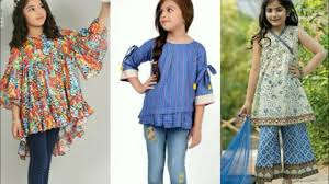 Baby Kurti Design 2019 Top Designer Little Girl Dresses Designs Kurti Eid Frock