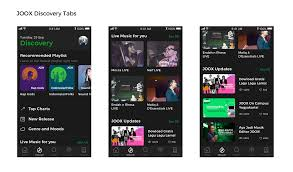 Joox Top Chart 2017 Joox How I Redesign The Apps For Easier Content Discovery