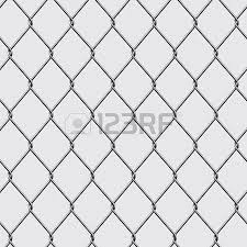 chain link fence vector. Metal Chain Link Fence Seamless Isolated On Background. Vector Illustration