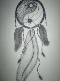 Pictures Of Dream Catchers To Draw Make the middle feather smaller and put some beads between the 3