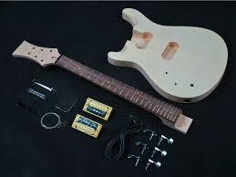 prs styled lefty guitar kit