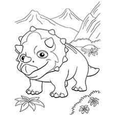 Small Picture Top 10 Free Printable Dinosaur Train Coloring Pages Online