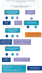 End Of Life Care Decision Making Flow Chart Life Care