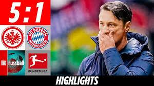 Kovac fliegt nach Demütigung | Eintracht Frankfurt - FC Bayern München 5:1  | Highlights