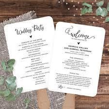 Wedding Program Fans Cheap Best Wedding Program Fans Products On Wanelo
