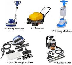 mechanical equipments list hotel housekeeping cleaning equipment