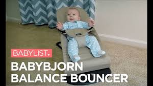 BabyBjorn Balance Bouncer Review - YouTube
