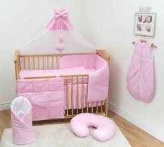 10 pc baby bedding set with per and