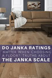 what is the janka scale