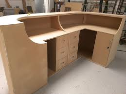 How to Build a Curved Reception Desk