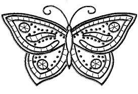 Disegno Farfalla Da Colorare Migliori Pagine Da Colorare