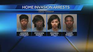 4 charged in Union Township home invasion